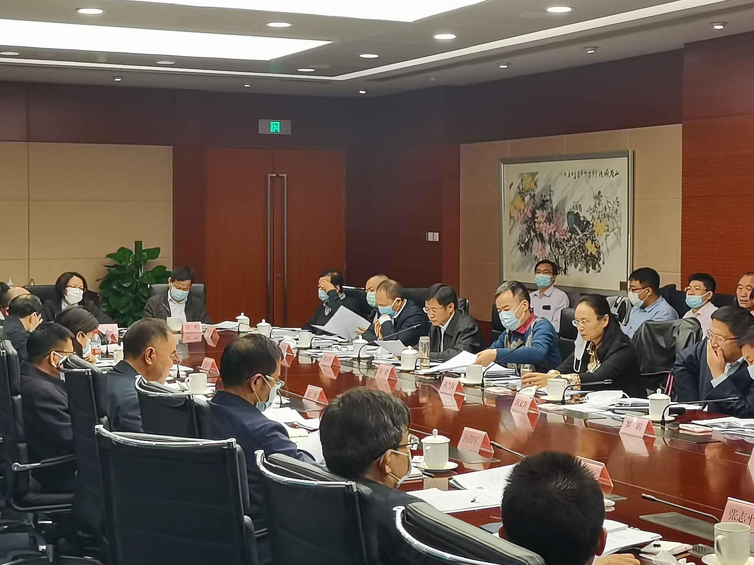 """刘文胜副局长出席""""获得电力""""专班会议并做经验交流发言"""